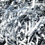 Silver Shredded Mylar, 5 pound box