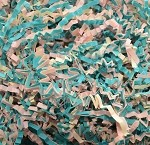 Pastel Mix Zig Zag Shred, 1 lb