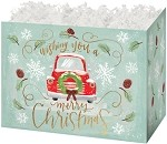Christmas Wishes Basket Boxes (Large, 10.25