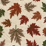 Leaves, Rust/Green Tissue Paper (20
