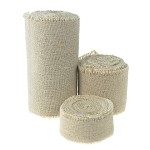 Linen Ribbon with Fringed Edge, 5 yards