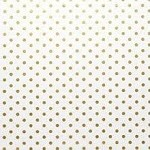 Gold Mini Dots on White Tissue Paper (20