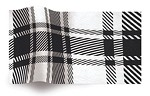 Chalet, Black/White, Tissue Paper (20