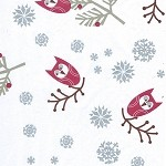 Holiday Owl Printed Tissue Paper (20