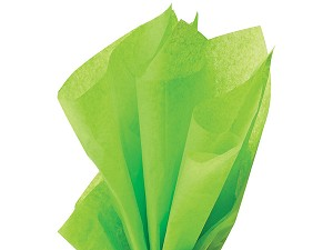 "Bright Lime Tissue Paper (20"" x 30"" per sheet)"