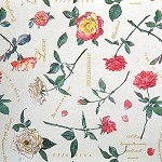 English Rose Printed Tissue Paper (20