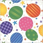 Festive Balloons Printed Tissue Paper (20