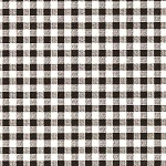 Gingham Black/White Printed Tissue Paper (20