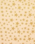 Gold Stars on Kraft Printed Tissue Paper (20