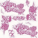 Christmas Toile Printed Tissue Paper (20