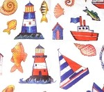 Nautical Printed Tissue Paper (20