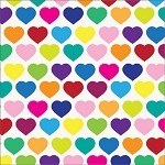 All Hearts Printed Tissue Paper (20