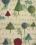 Topiary Tree Script Printed Tissue Paper (20