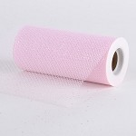 Light Pink Glitter Tulle (6