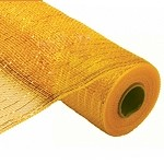Gold Metallic Poly Mesh Fabric, 21